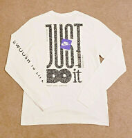 NEW Nike Authentic Men's Swoosh Just Do It T-Shirt Limited LOVE PEACE Edition