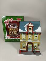 DEPT 56 A CHRISTMAS STORY THE Police STATION MINT