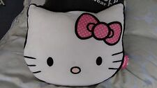 Hello Kitty Cushion Pillow Bed White Pink Girls Toy