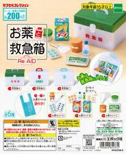 EPOCH Capsule Miniature drug medicine first-aid kit Gashapon re-ment size 6 PCS