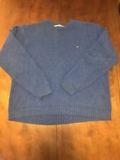 Tommy Hilfiger Mens XXLblue Sweat Shirt Pre Owned RN 77806 Heavy