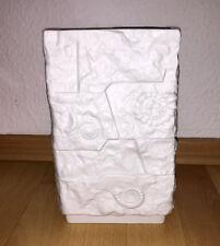 Edle Porzellan Vase AK Kaiser aus Biskuitporzellan - Fossil Muscheloptik