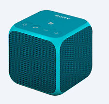Sony Srsx11l Portable Bluetooth Wireless Speaker With USB Connection in Blue