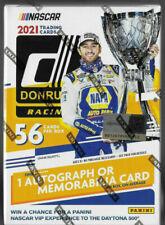 2021 Donruss NASCAR Racing 2 Blaster Boxes Cards 1 Auto or Memo.