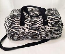 PINK Victoria's Secret Duffel Bag, X Large Travel Bag, Weekender Zebra Print