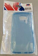 Samsung Galaxy S7 Edge Transparent Protective Case - Blue - #24F