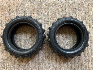 Vintage Tamiya Vanquish / Supershot Front Tyres Super Gripper Racing 9.50-20
