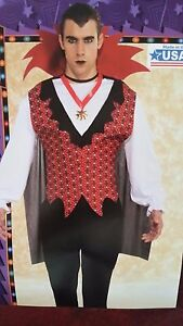 Rubies Vampire Halloween Costume Mens L 36-38