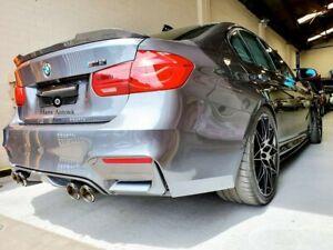 CS Style FULL Dry Carbon Rear Spoiler Boot FOR BMW F80 M3 3 Series F30 SEDAN