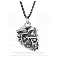 Green Day Official Grenade Pendant Pewter Cord Necklace Charm Logo