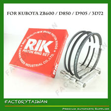 Riken Piston RingSTD 72mm for KUBOTA ZB600 / D850 / D905 / V1205