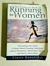 SUZ BOOK RUNNING FOR WOMEN THE COMPLETE BOOK, TRAINING NUTRITION INJURY PREVENT