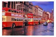 gw0121 - Belfast  Trolleybuses at Rush Hour in 1964 - photograph