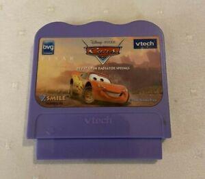 VTech VSmile CARS Rev up in Radiators Springs game cartridge