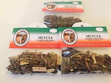 New Muicle Herbs 3 bags 1.2 oz.Muycle Hierbas Mexicanas El Indio Jacobina