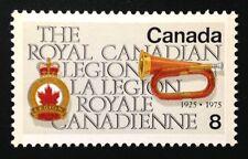 Canada #680ii MF MNH, Royal Canadian Legion Stamp 1975