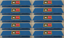 Swan King Size Slim Rolling Papers 10 Booklets Blue Smoking Rizla Multi Pack