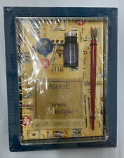 Aladine Calligraphy Ink & Pen Set in Box - Musique - Made in France - New