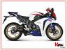 Akrapovic Pot D'Échappement Complet S-H10R6L-TC Honda Cbr1000rr RR 1000rr 2008/