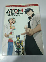 Atom The Beginning Serie Completa TV 12 Episodios - 3 x DVD Español Ingles