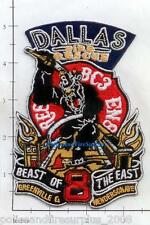 Texas - Dallas Engine 8 Rescue 8 Battalion 3 Fire Rescue TX Fire Dept Patch