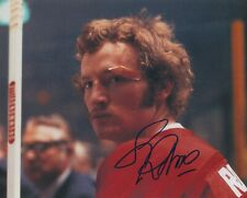LARRY ROBINSON SIGNED MONTREAL CANADIENS 8x10 PHOTO W/PROOF # 1