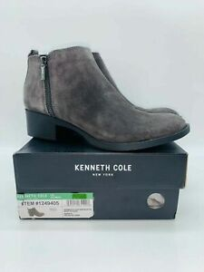 Kenneth Cole Women's Dara Ankle Boots Asphalt Suede - Pick Size