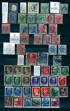 Nicht bestimmte gestempelte Briefmarken aus Italien & Kolonien