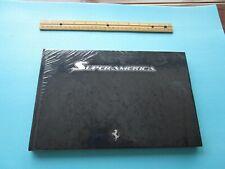 Ferrari Superamerica Prestige Book Brochure Book Limited Edition Sealed