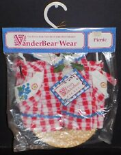 FLUFFY VANDERBEAR PICNIC OUTFIT 4238