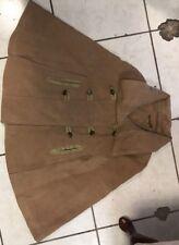 Jou jou jacket womens double breasted brown coat XL