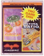 Gunstar/ultima ratio (Firebird) Amstrad Disco en muy buena condición y Completo