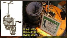 DVD - How to Knit a Hem Top Sock on Circular Sockknitting Machine