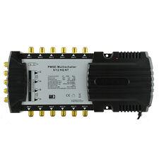 PMSE 9/12 Multischalter HQ NT für 12 Receiver HDTV Digital SAT Anlage Verteiler