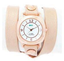La Mer Pearl Odyssey w/ Gold Rivets Wrap Watch