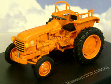 EXCELLENT U/H HACHETTE DIECAST 1/43 1956 RENAULT D22 TRACTOR IN ORANGE TR17