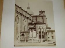 NAYA / VENISE VENEZIA 1870 Chiesa de Ss.Giovanni e Paolo VINTAGE Albumen Print