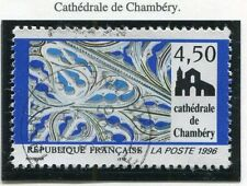 TIMBRE FRANCE OBLITERE N° 3021  / CATHEDRALE DE CHAMBERY /