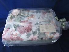 "KEEPSAKE BOX Floral Design Cloth Moire 5"" x 13.5"" x 10"" ~ VINTAGE NEW in BAG"