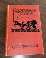 Rootabaga Stories by Carl Sandburg (Hardcover 1923) Children's Stories Free