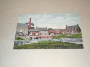 EARLY 1900s POSTCARD - RUINS OF THE OLD MILL, FINEDON, NORTHAMPTONSHIRE