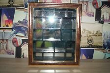 Thimble Cabinet Display Case mirror inside 1 of 2