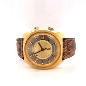 Omega Seamaster Memomatic Alarm Rare Automatic Wristwatch Ref: 166.072