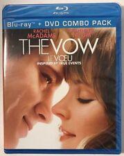 The Vow (Blu-ray/DVD, 2012, Canadian Bilingual 2012) Rachel McAdams