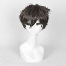 Cosplay Men Short Dark Brown Full Wigs Pixie Hair Cosplay Harry Potter Realistic