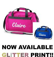 Personalised Name Sports Holdall Bag School Dance Boys Girls PE Club Team Gym