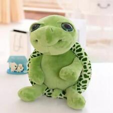 Lovely Big Eyes Green Tortoise Turtle Animal Stuffed Plush Baby Toy Gift 20cm LG