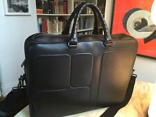 BOTTEGA VENETA  Briefcase travel bag Intrecciato leather ysl shoulder strap
