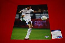 RICARDO KAKA brazil real madrid world cup soccer signed PSA/DNA 11X14 1
