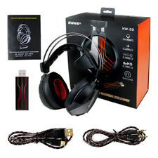 Wireless Gaming Headset Gaming Headphones7.1 Surround Sound  For PS4 PC Computer